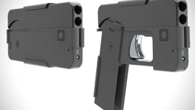 Photo of Gun That Folds Up to Look Like a Cellphone
